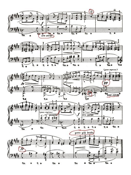 Follow all the markings in the score when sight-reading