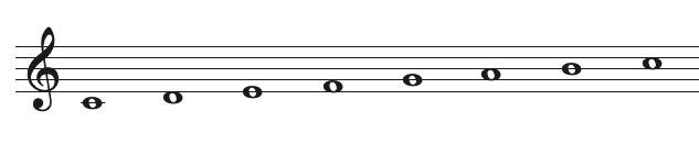 C major scale
