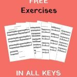 piano exercises in all tonalities