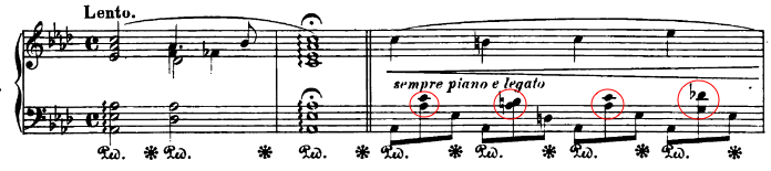 Chopin's Nocturne Op.32 No.2 example