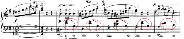 Chopin's Waltz KK4a No.15 example
