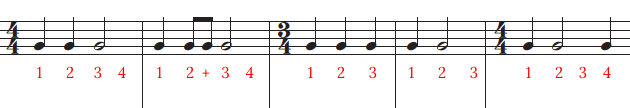 easy time signature changes