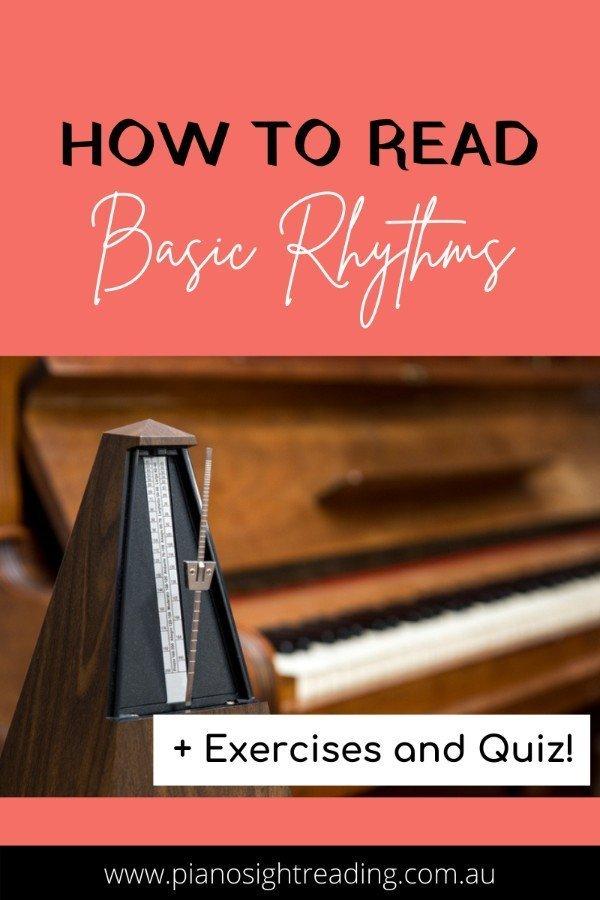 how to read basic rhythms