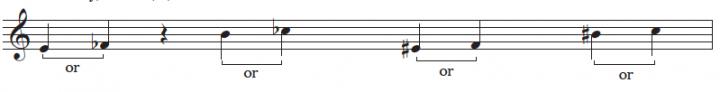 enharmonic notes white keys