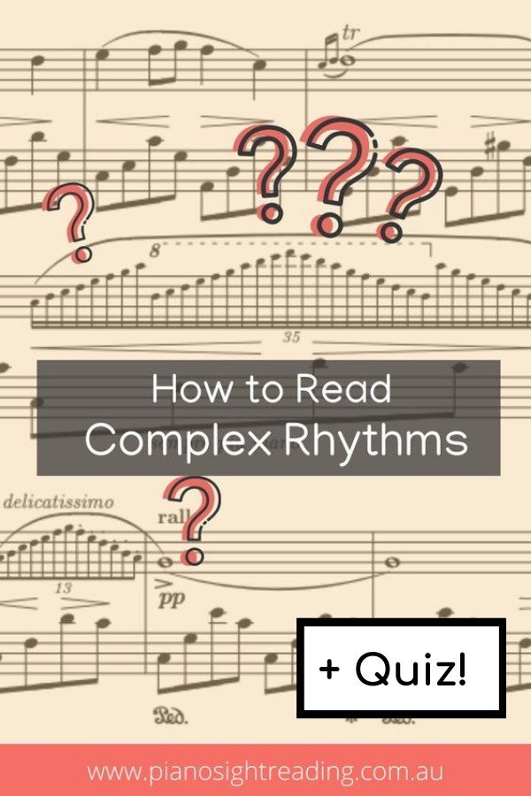 how to read complex rhythms