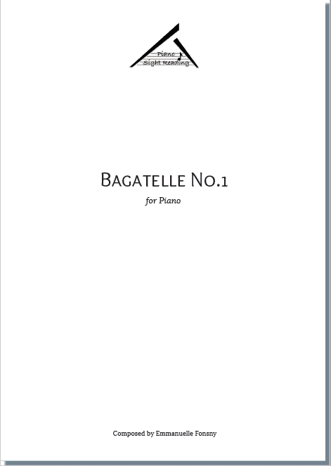cover of Bagatelle No.1