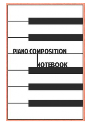 piano composition notebook