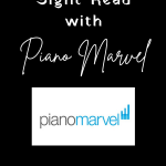 sight-read with Piano Marvel