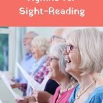 hymnals for sight-reading