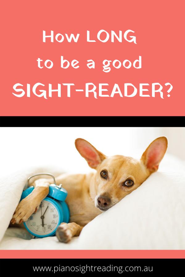 good at sight-reading