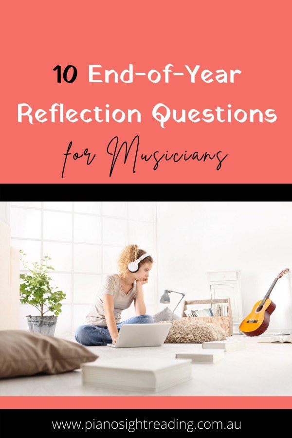 end-of-year reflection questions for musicians