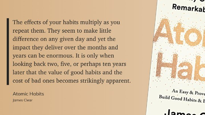 the effect of daily habits