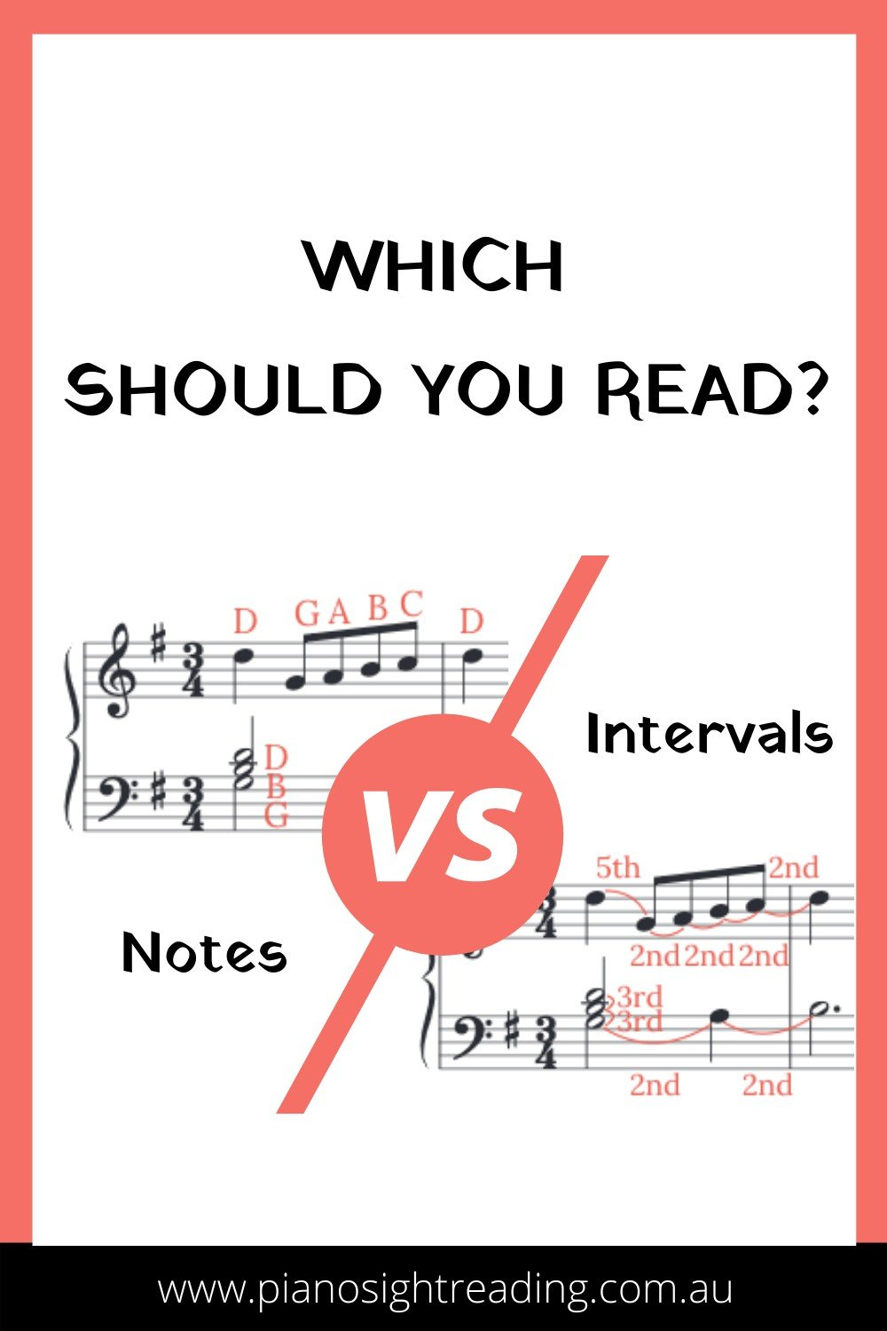 read the notes or the intervals