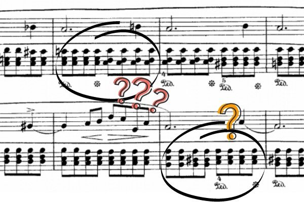 how to sight-read piano chords
