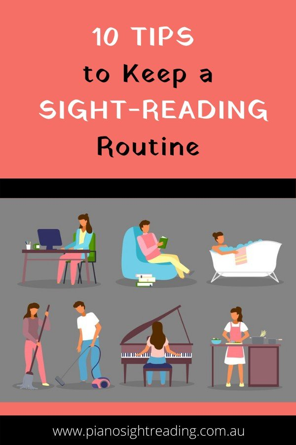 sight-reading routine