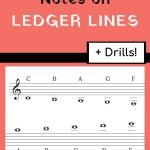notes on ledger lines