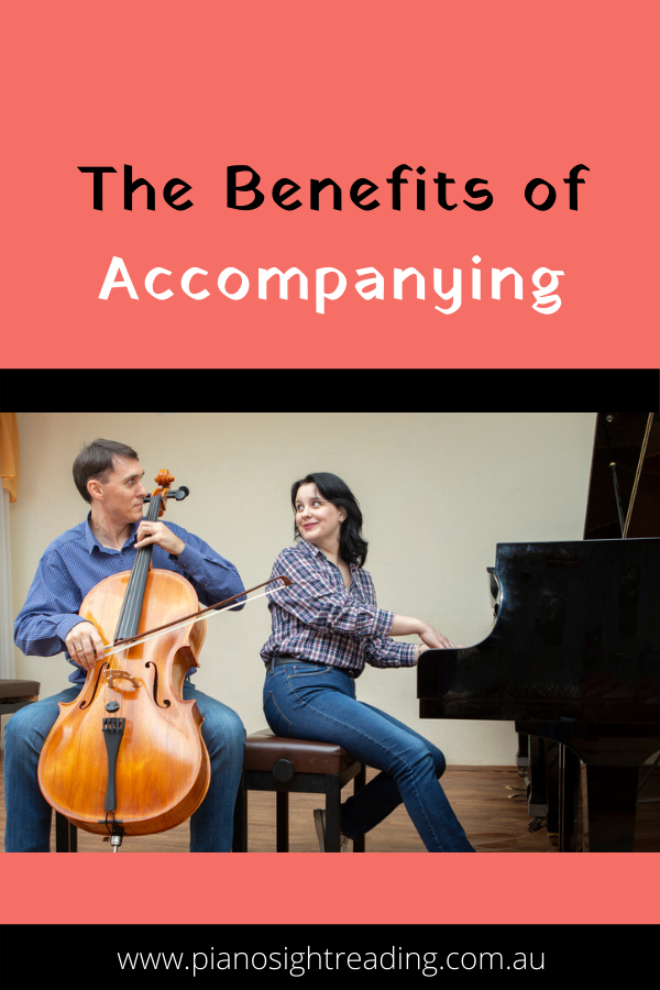 benefits of being a piano accompanist