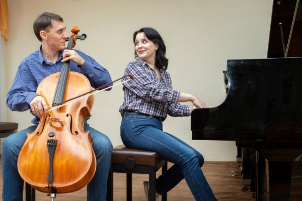 pianist accompanying a cellist