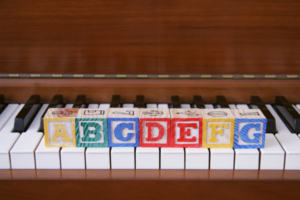 the easiest and quickest way to remember the piano notes